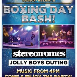 Boxing day bash