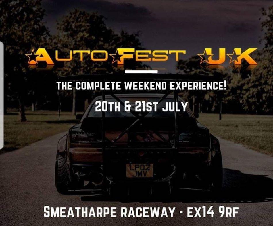 AutoFest UK- 20th July 2019